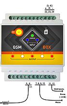 Умная розетка SMS управление через телефон - Одноканальная 16А (220В)