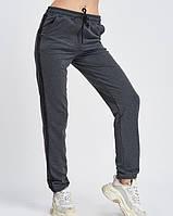 Спортивні штани ISSA PLUS 9976 S темно-сірий