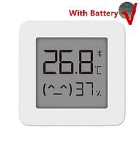 Оригінальний Розумний Цифровий термометр-гігрометр Xiaomi Mijia 2 Bluetooth 4.2 з батарейкою