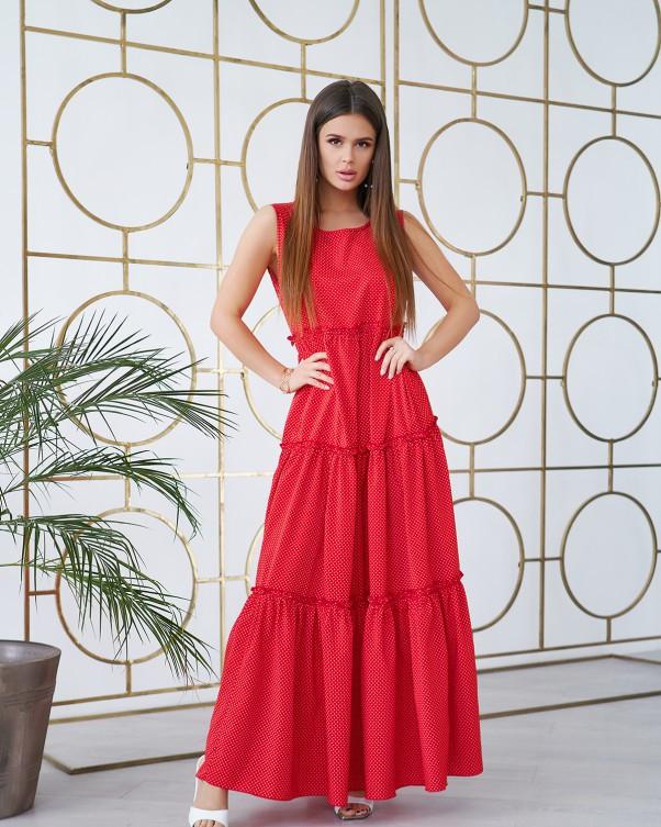 Платья ISSA PLUS 11734  S красный