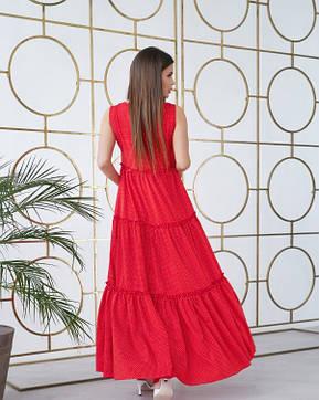 Платья ISSA PLUS 11734  S красный, фото 2