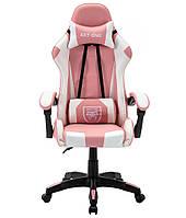 Спортивное кресло Стул спортивный EXT ONE РОЖЕВЕ Кресло офисное компьютерное Геймерське крісло Офісне крісло