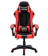 Компютерне крісло Спортивне крісло Ігрове крісло EXT ONE ЧЕРВОНЕ Геймерское кресло Стул компьютерный Стулья