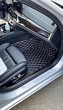 Комплект килимків з екошкіри для Lexus RC, від 2016 року, фото 2