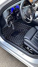Комплект килимків з екошкіри для Lexus RC, від 2016 року, фото 3