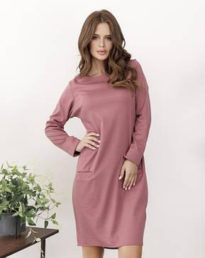 Платья ISSA PLUS 12147  S темно-розовый, фото 2