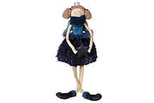 Декоративная фигура Ангел с висящими ножками, 58см, цвет - глубокий синий BonaDi 743-444