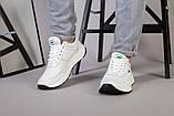 Кросівки чоловічі шкіряні білі, фото 3