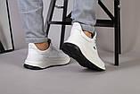 Кросівки чоловічі шкіряні білі, фото 4