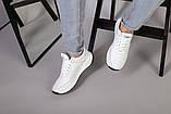 Кросівки чоловічі шкіряні білі, фото 5