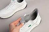 Кросівки чоловічі шкіряні білі, фото 9