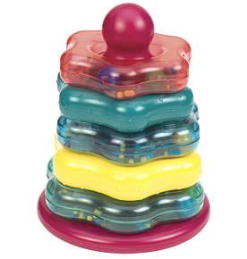 Развивающая игрушка Battat Lite Цветная Пирамидка gBT2407Z