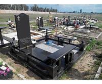 Памятник из гранита габбро П - С 18