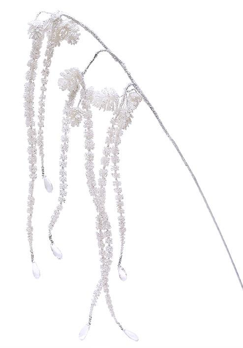 Декоративная ветка с шишками 60см BonaDi 703-108
