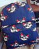 Женский оригинальный вместительный рюкзак 16 л. URBANSTYLE, 077 синий