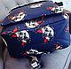 Женский оригинальный вместительный рюкзак 16 л. URBANSTYLE, 077 синий, фото 3