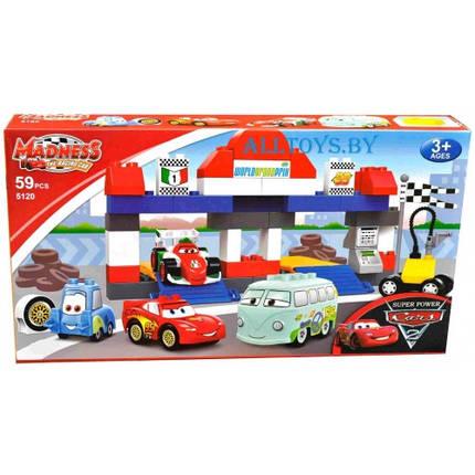 "Детский конструктор Meadness CARS 5120, ""Тачки"", Формула 1 59 деталей, фото 2"