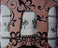 """Комплект полотенец баня-2лица """"Vevien"""" бамбук Турция"""