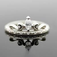 """Серебряное обручальное кольцо """"Тиара"""" от WickerRing"""