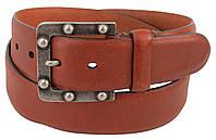 Женский кожаный ремень, пояс Farnese, Италия, DFA113 коричневый, фото 1