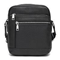 Мужская кожаная сумка Ricco Grande K16399-black