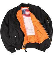 Куртка пилот MA-1 Blood Chit Black