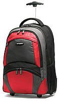 Рюкзак на колесах Samsonite - 33 л (черный/оранжевый), фото 1