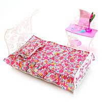 Детский игровой набор мебели Gloria для спальни | Набор кровать, стол, стул