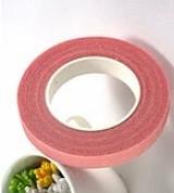 Тейп-стрічка рожева 12мм флористична