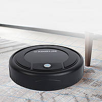 Робот пылесос XIMEIJIE MOP Robot робот-уборщик для всех типов пола полотёр для легкой уборки пола Чёрный