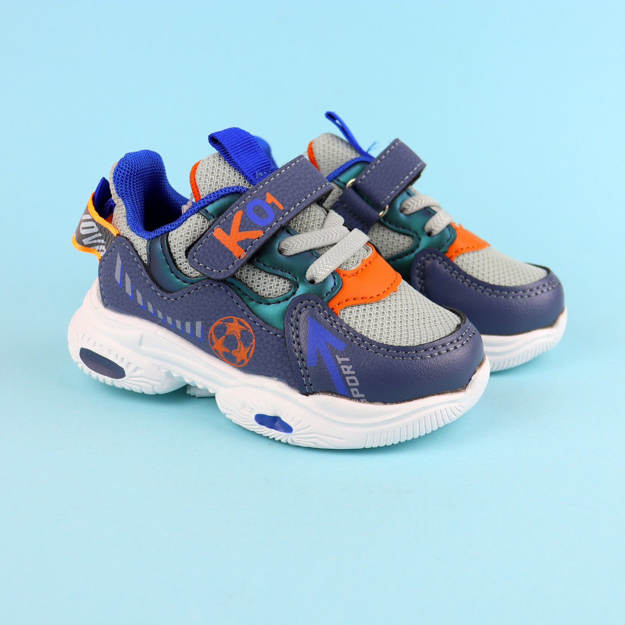 Кросівки для хлопчика сині ТОМУ.М розмір 21,22,23,24,25