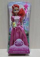 Кукла Принцесса в слюде на листе