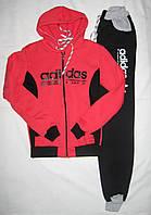 Спортивный костюм женский на флисе р 44-48