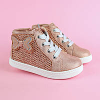 Дитячі черевики для дівчинки Метелик тм Bi&Ki розмір 22,23,24,25