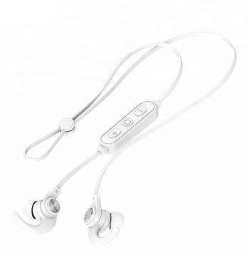 Беспроводные Bluetooth наушники Celebrat Белые (A7 White)