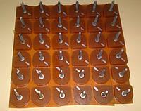 Набойки полиуретановые  для обуви  №19 беж