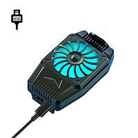 Охлаждающий радиатор Mobile Phone Lesko H15 Cable Black для смартфона