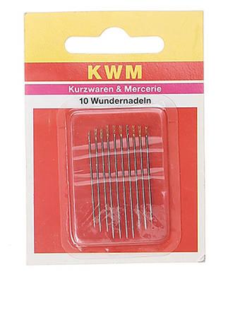Набор иголок KWM металик-золотой 10 шт (K02-110026)