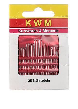 Набор иголок для шитья KWM металик 25 шт (K02-110029)