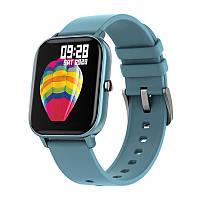 Смарт-часы Colmi P8 Blue для измерения пульса Bluetooth умные часы