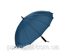 Полуавтоматический зонт LoGo S1106, 56*10K, защита от солнца, UV (99%), защита от дождя, каркас - Al+Fe, Blue