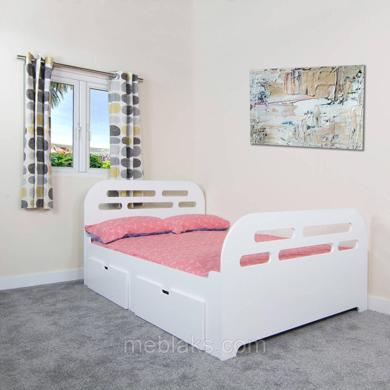 Кровать одноярусная КОД 340