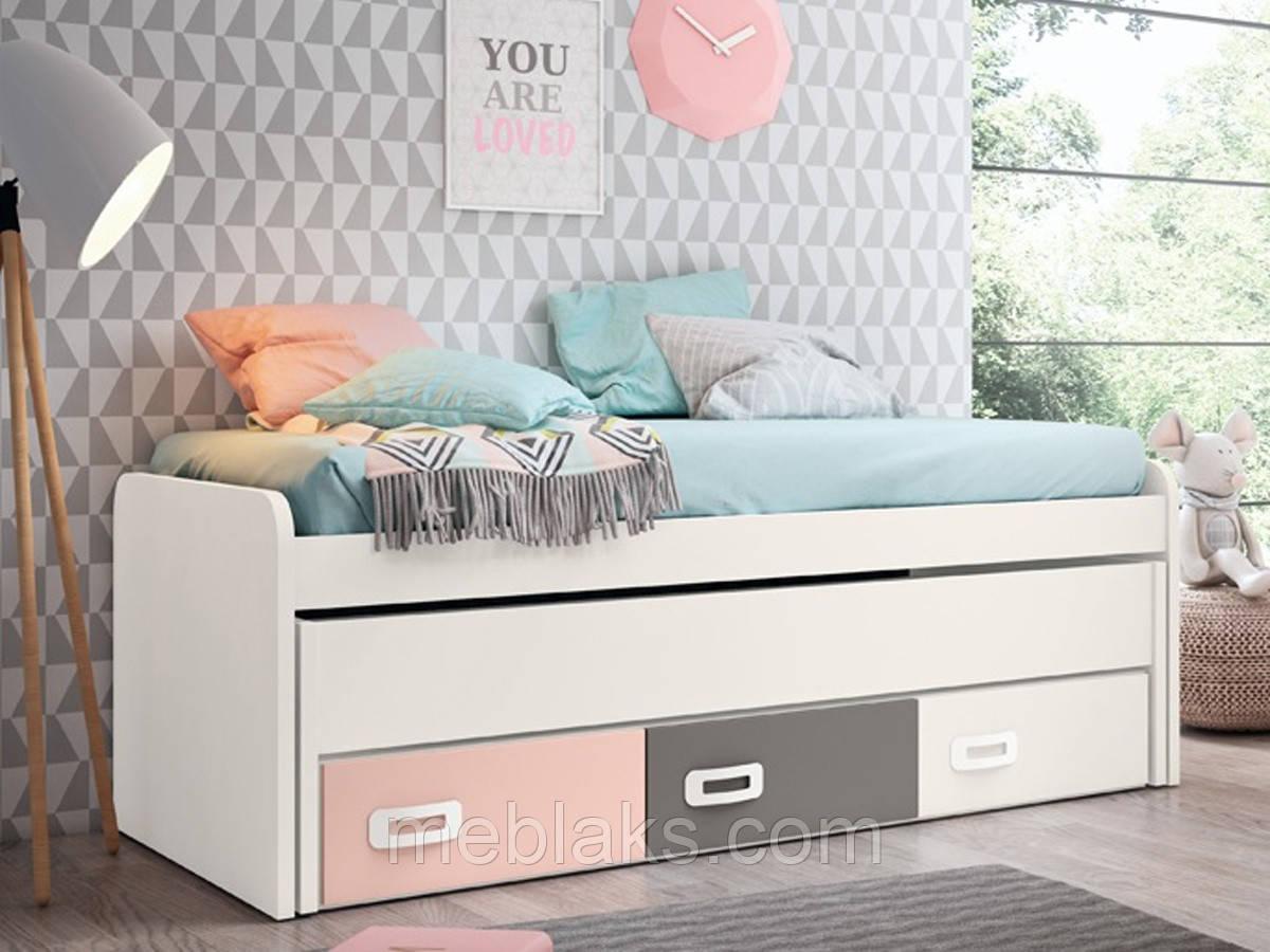 Выдвижная кровать для двоих ВКД 26