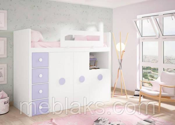 Детская кровать чердак ДКЧ 80, фото 2