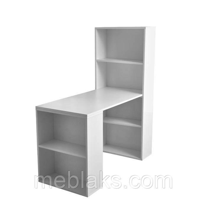Маникюрный стол с полочками МС 032