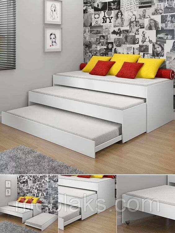 Детская кровать для троих ВКТ 210