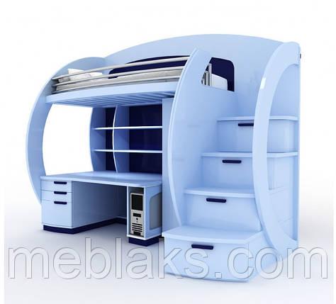 Двухъярусная кровать чердак ДМ 081, фото 2