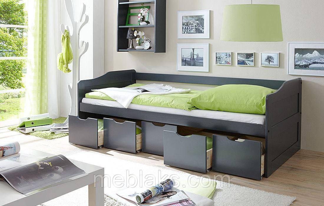 Детская одноярусная кроватка ДОК 35