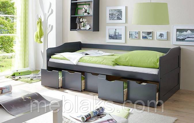 Детская одноярусная кроватка ДОК 35, фото 2