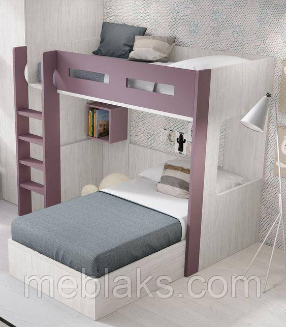 Двухъярусная кровать чердак ДКЧ 651